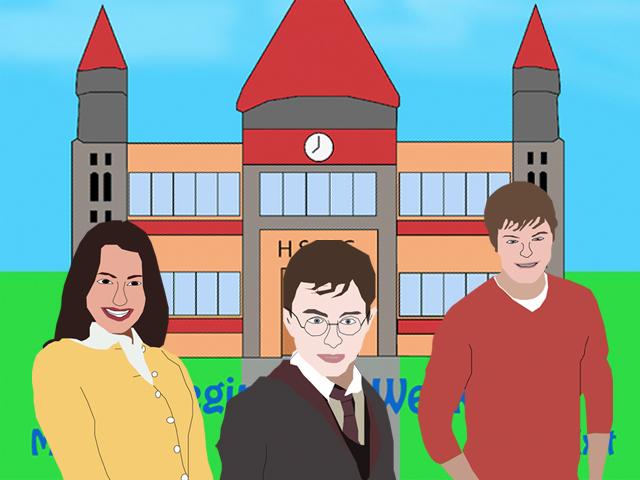 Hogwarts School of Musical Glee
