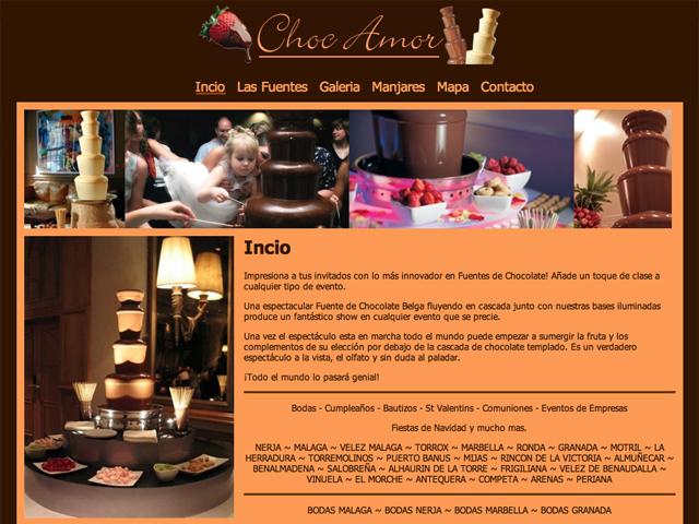 Choc-Amor Website Development