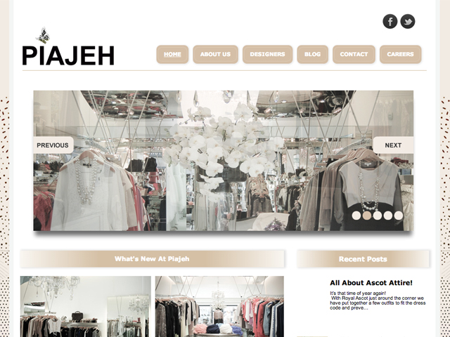 Piajeh - Wordpress Development